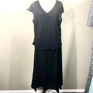 Vintage Studio One Blouse/Skirt Set Sz 20W NWT